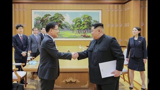 Kim Jong-un promete suspender testes nucleares por diálogo, diz Seul