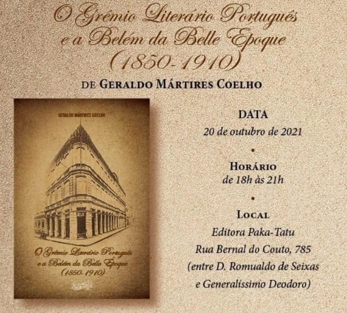 Livro que retrata Belém de 1850 a 1910 será lançado nesta quarta