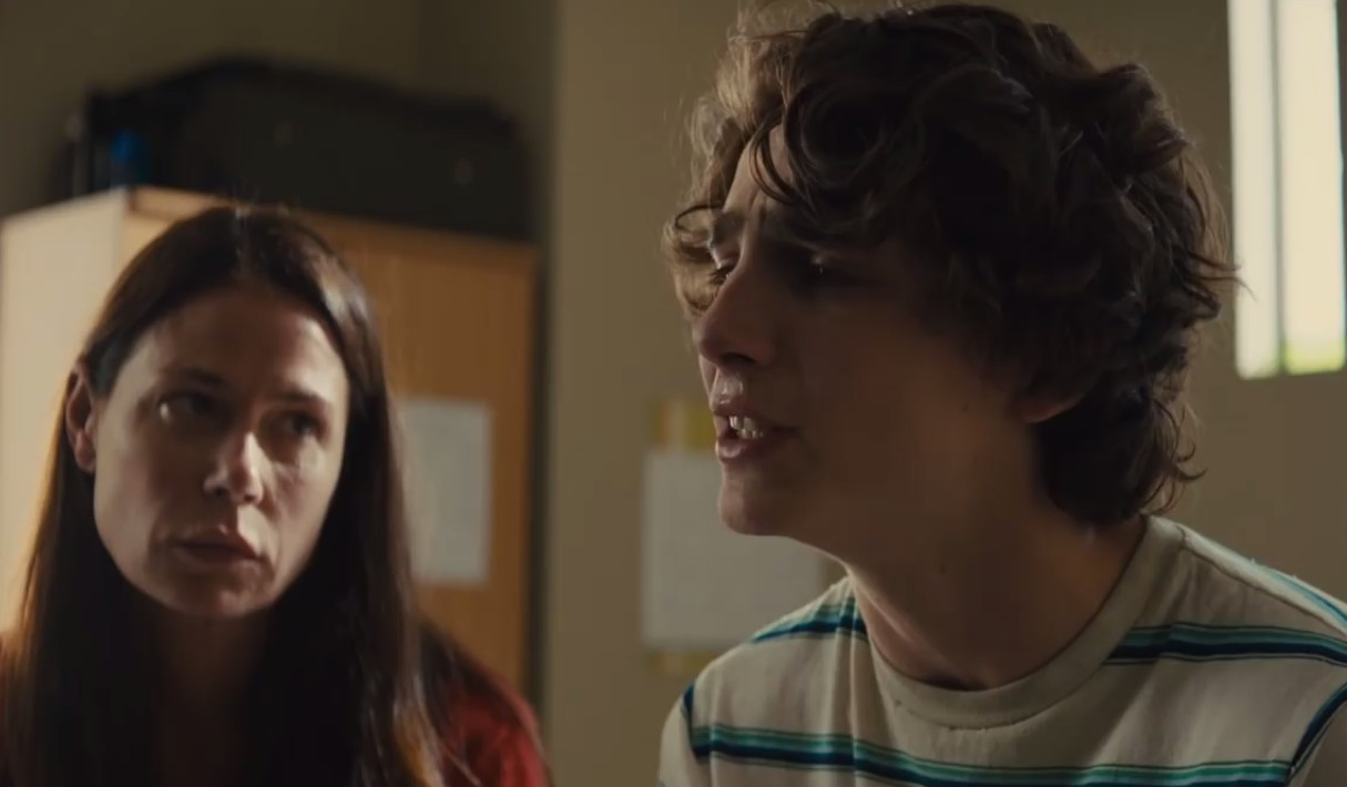 O ator Thimothée Chalamet em cena de Beautiful Boy (Foto: YouTube)