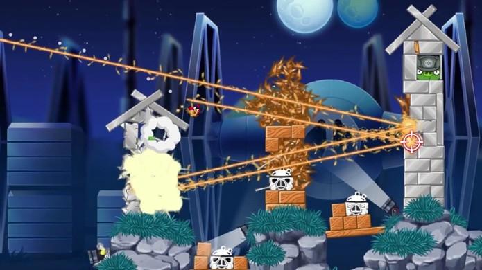Atualização de Angry Birds: Star Wars 2 traz novas fases, novos pássaros e novos poderes (Foto: Reprodução: YouTube)