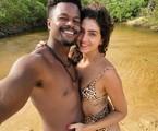 David Júnior e Yasmin Garcez estão na Bahia | Arquivo pessoal