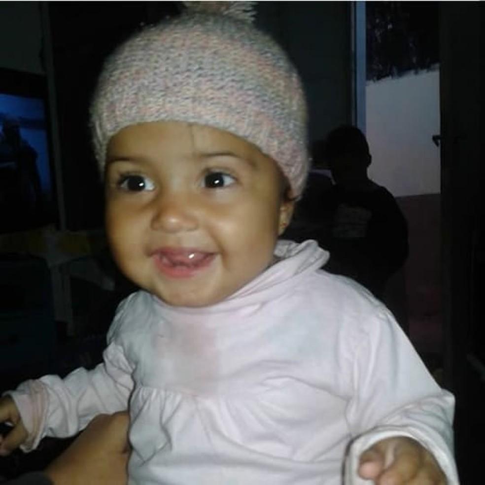 Menina de 3 anos morreu após incêndio em Campo Grande; outras 3 pessoas ficaram feridas — Foto: Arquivo Pessoal