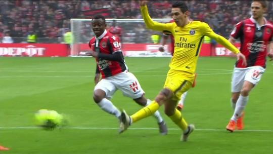 Gol do PSG! Di Maria dribla Dante e bate de pé esquerdo para empatar aos 20' do 1º tempo