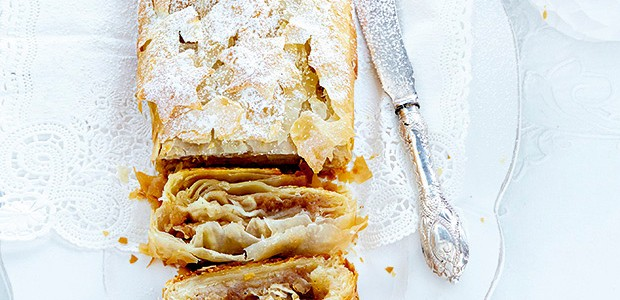 Strudel de maçã e marzipã (Foto: StockFood / Gallo Images Pty Ltd.)
