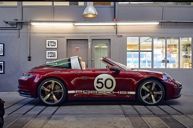 Porsche 911 Targa Heritage Edition (Foto:  Divulgação)