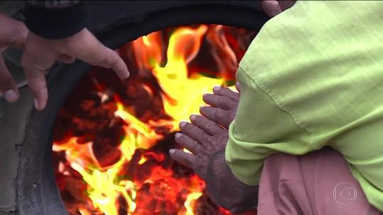 Frio muda hábitos dos moradores do Sertão do Araripe, em Pernambuco