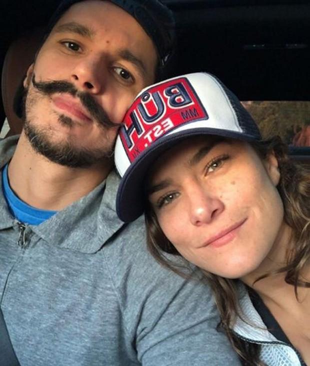 Bruninho Lopes e Priscila Fantin (Foto: Reprodução/Instagram)