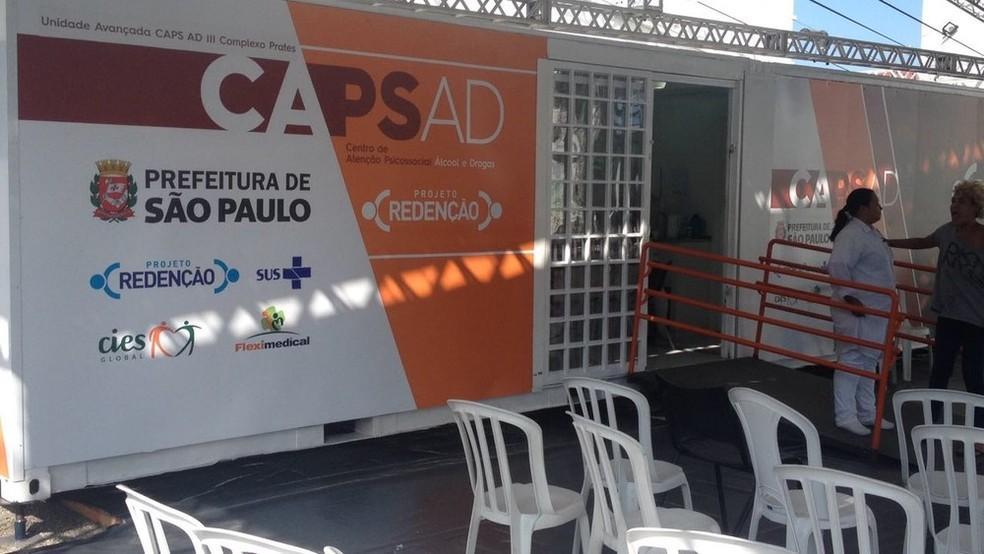 Caps funcionava com uma equipe multidisciplinar, com dois psiquiatras de plantão 24 horas (Foto: Paula Paiva Paulo/G1)