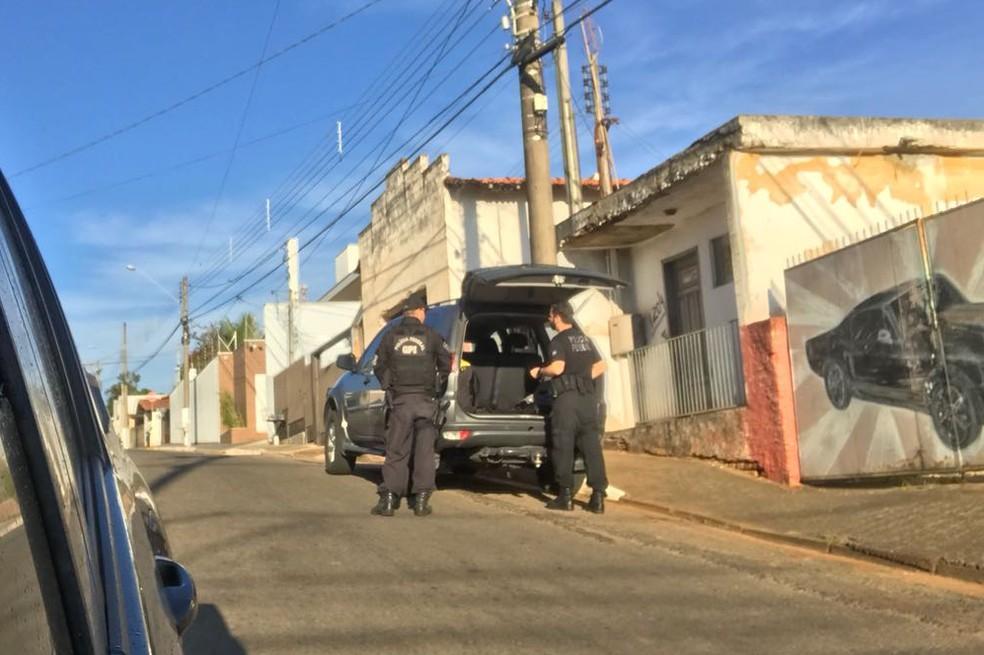 PF faz mandados de busca na casa do prefeito de Laranjal Paulista, Alcides de Moura Campos Júnior (PTB) (Foto: Arquivo Pessoal)