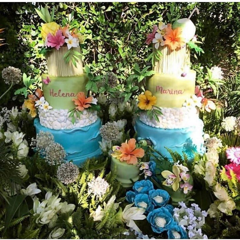 Ivete Sangalo celebra primeiro aniversário de gêmeas (Foto: Reprodução/Instagram)
