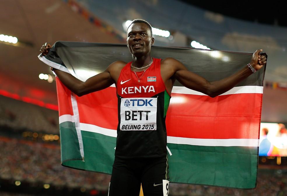 Nicholas Bett Mundial de Atletismo (Foto: Getty)