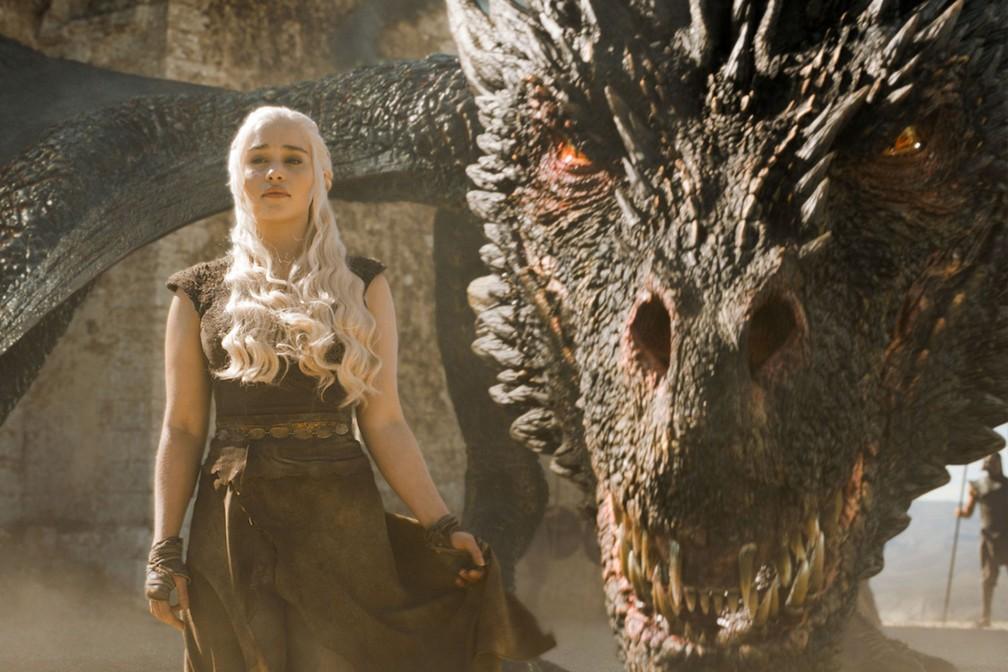 daenerys Targarye (Emilia Clarke) em cena de 'Game of Thrones' — Foto: Divulgação/HBO