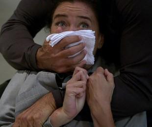 Lilia Cabral como Griselda em cena de 'Fina estampa' | Reprodução