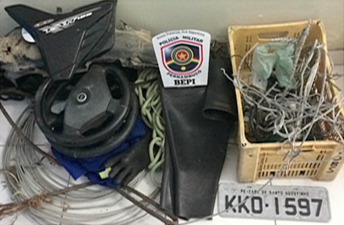 Dupla é presa suspeita de roubar cobre de transformadores de energia em Agrestina