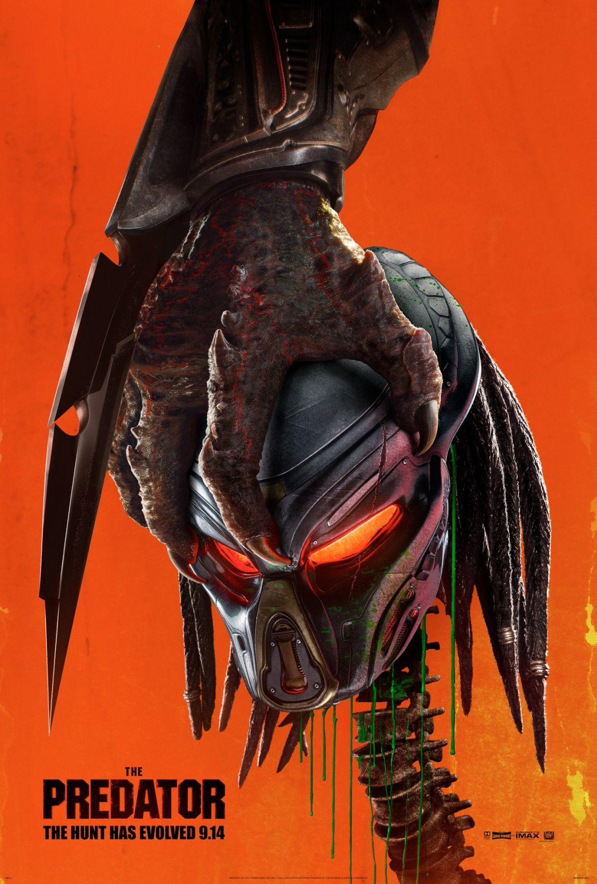 O pôster de O Predador (Foto: Divulgação)
