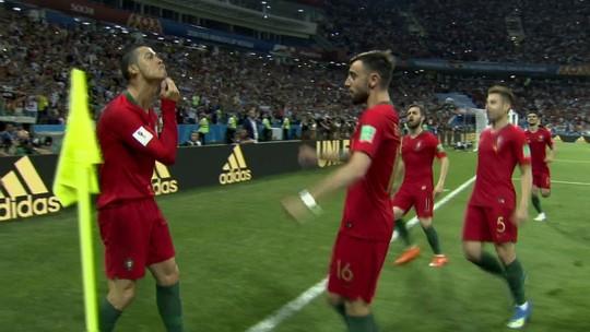 Cristiano versátil Ronaldo: artilheiro, craque faz gols de todos os jeitos na Rússia