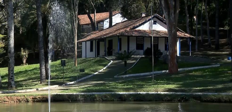 -  Museu de Cabangu,em Santos Dumont  Foto: Reprodução/TV Integração
