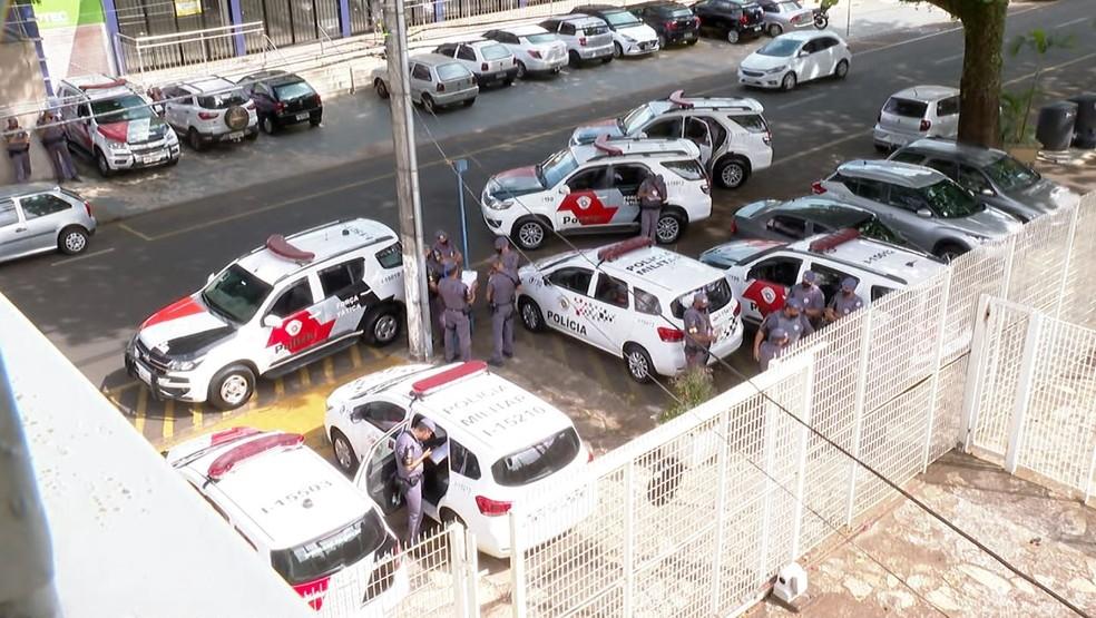 Operação Hamelin cumpre mandados de busca e apreensão em Franca, SP — Foto: Alexandre Sá/EPTV