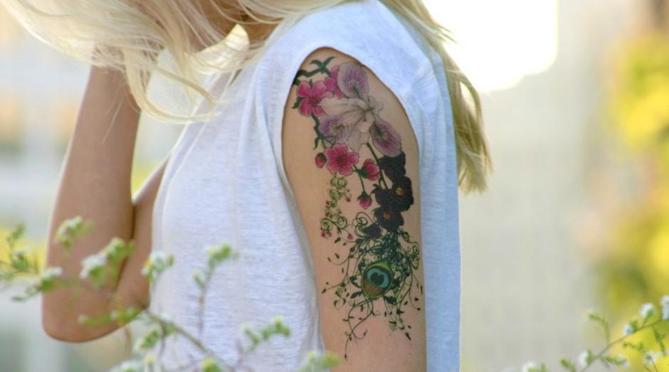 A Momentary Ink foi criada por um casal que não conseguia decidir que tattoo fazer (Foto: Divulgação)