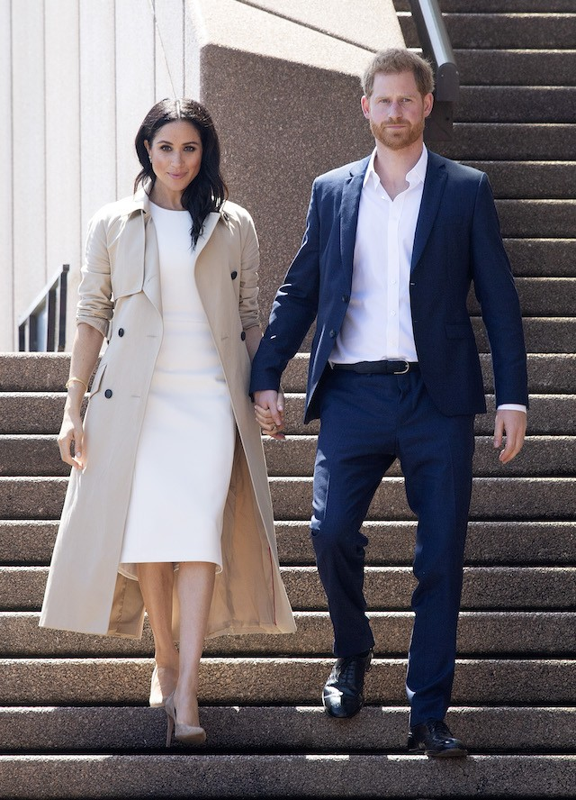 Meghan Markle e Príncipe Harry na Austrália (Foto: Getty Images)