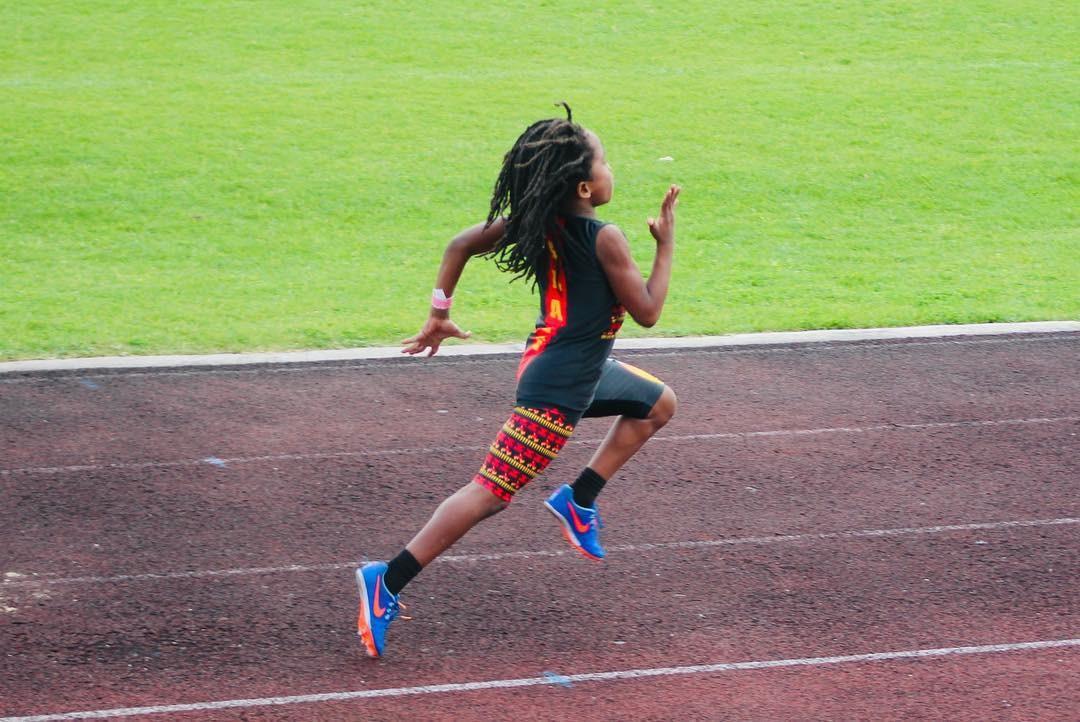 Blaze correndo (Foto: Reprodução Instagram)