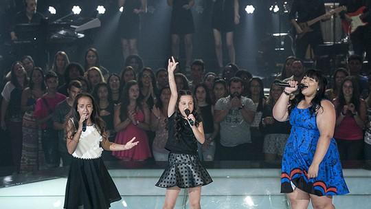 Batalha rock de Amanda Lampert, Emellyn Syang e Valentina Francisco deixa Brown numa 'enrascada'
