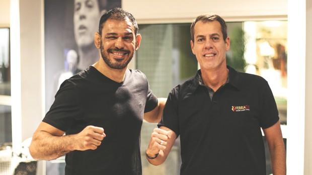 Rogerio Minotouro e José André (Foto: Divulgação/ AF Assessoria & Produções)
