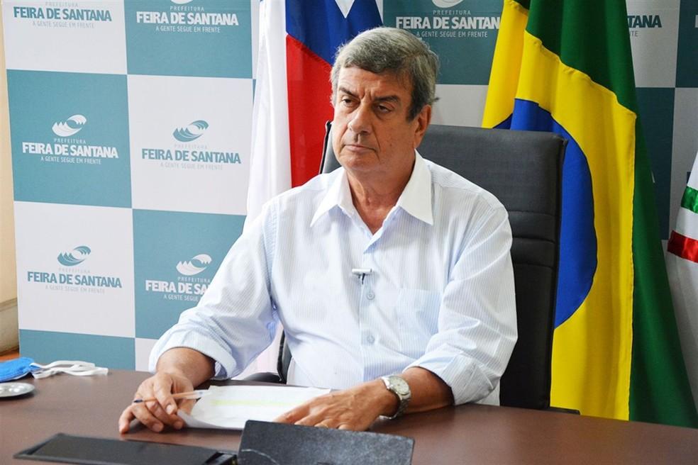 Colbert Martins, do MDB, é reeleito prefeito de Feira de Santana — Foto: Divulgação/Prefeitura de Feira de Santana