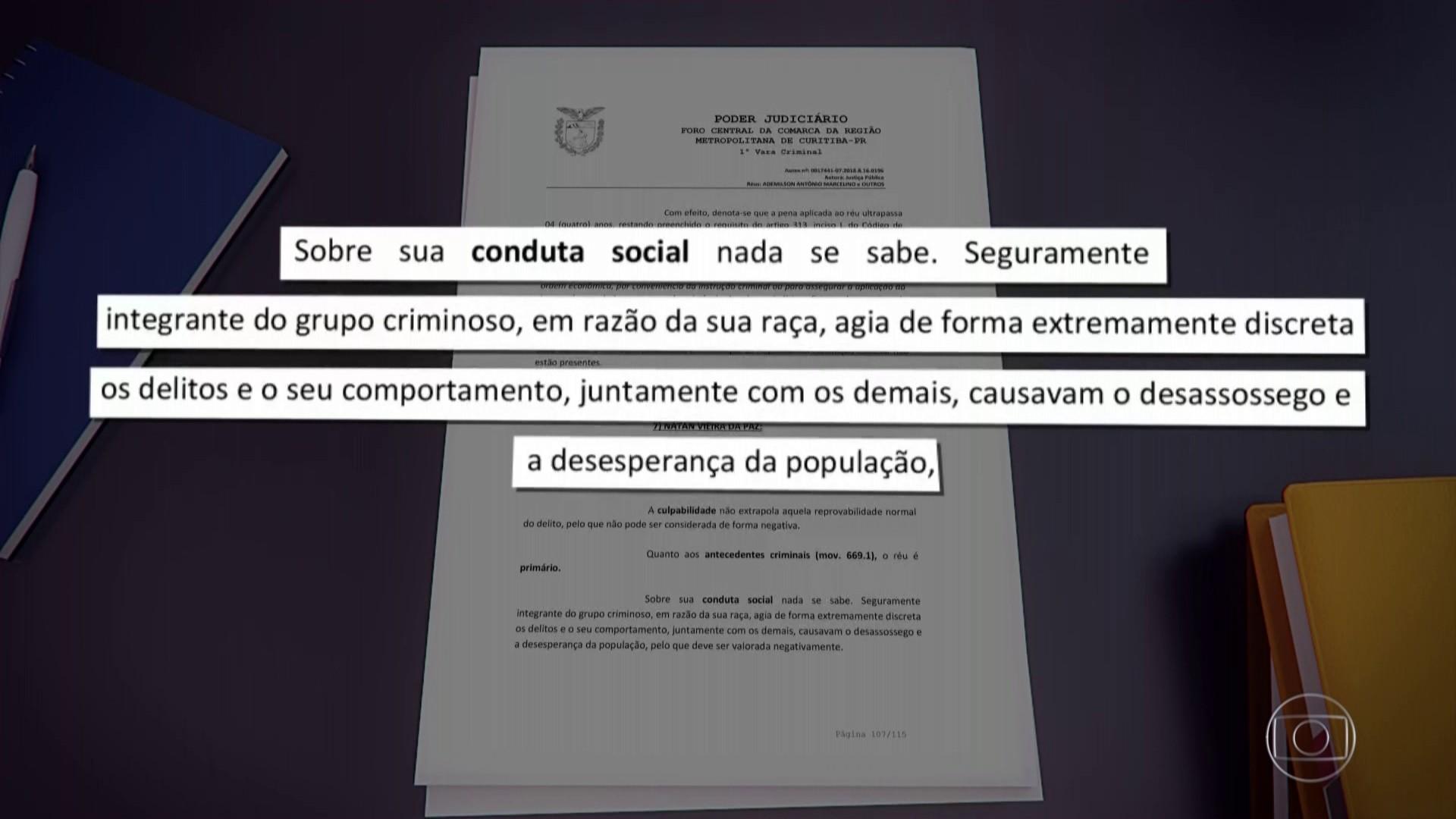 Defensoria Pública anuncia força-tarefa para revisar sentenças de vara criminal em que juíza citou raça ao condenar réu negro