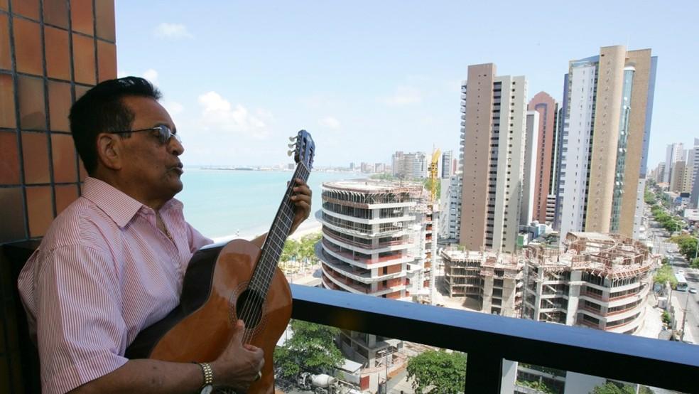 Músico morreu nesta sexta-feira (29) em Fortaleza — Foto: Kid Júnior/SVM