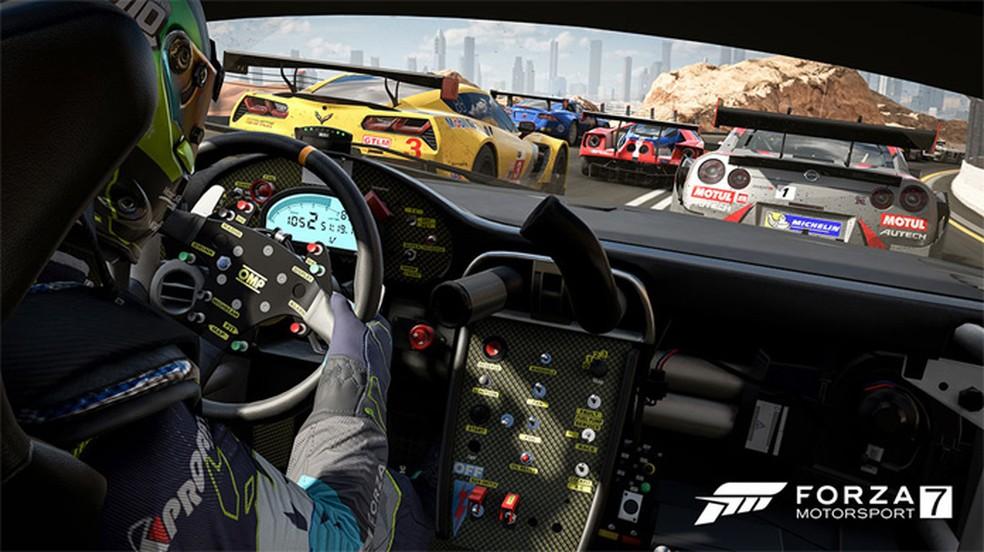 Forza Motorsport 7 é a versão da franquia que mais apareceu nos esports — Foto: Divulgação/Forza Motorsport 7