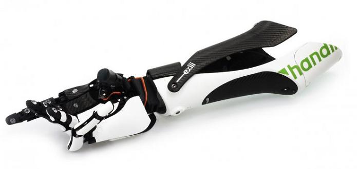 Braço biônico hi-tech é uma criação japonesa (Foto: Divulgação)