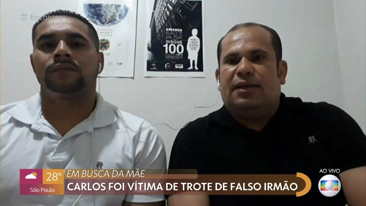 Antônio Carlos foi vítima de trote de falso irmão