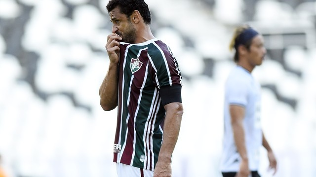 Fred em Fluminense x Botafogo