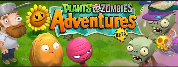 'Plants vs. Zombies Adventures' é game para o Facebook que ainda não tem data de lançamento (Foto: Divulgação/Popcap)
