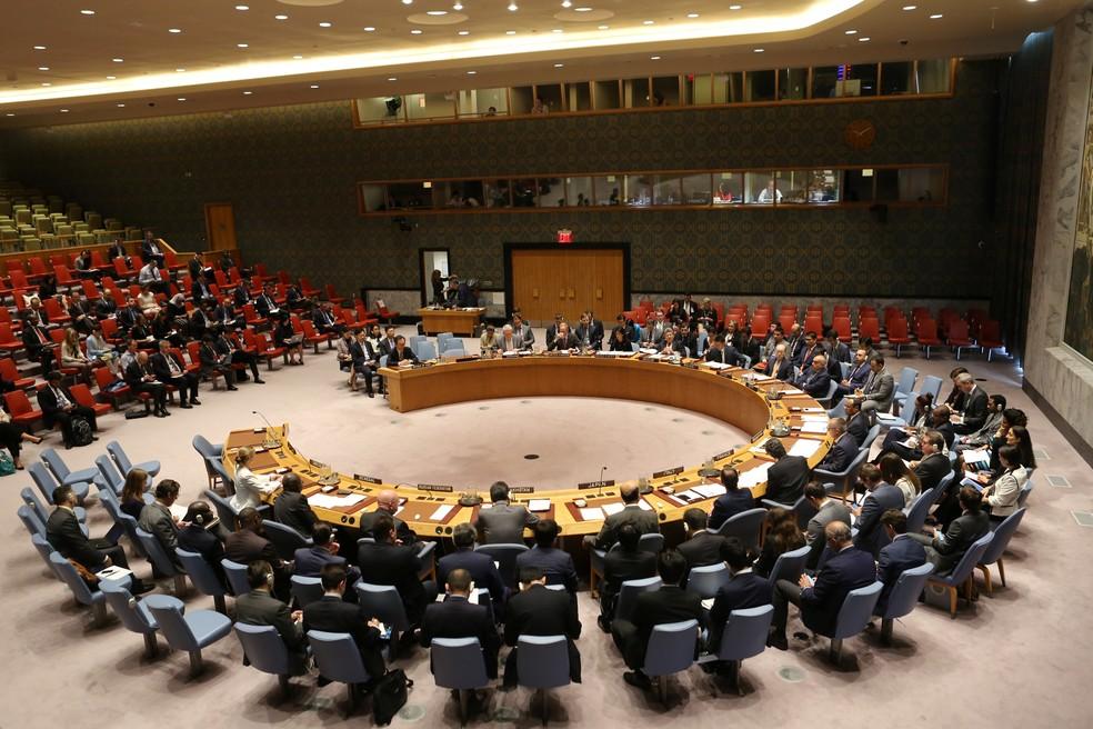 Conselho de Segurança da ONU se reúne para discutir teste nuclear da Coreia do Norte (Foto: REUTERS/Joe Penney)