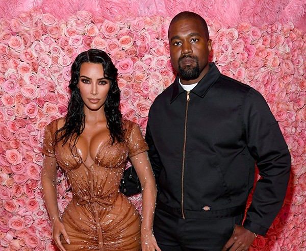 Kim Kardashian e Kanye West (Foto: Getty Images)