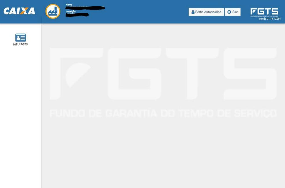 Tela para simular valor do saque-aniversário do FGTS — Foto: Reprodução