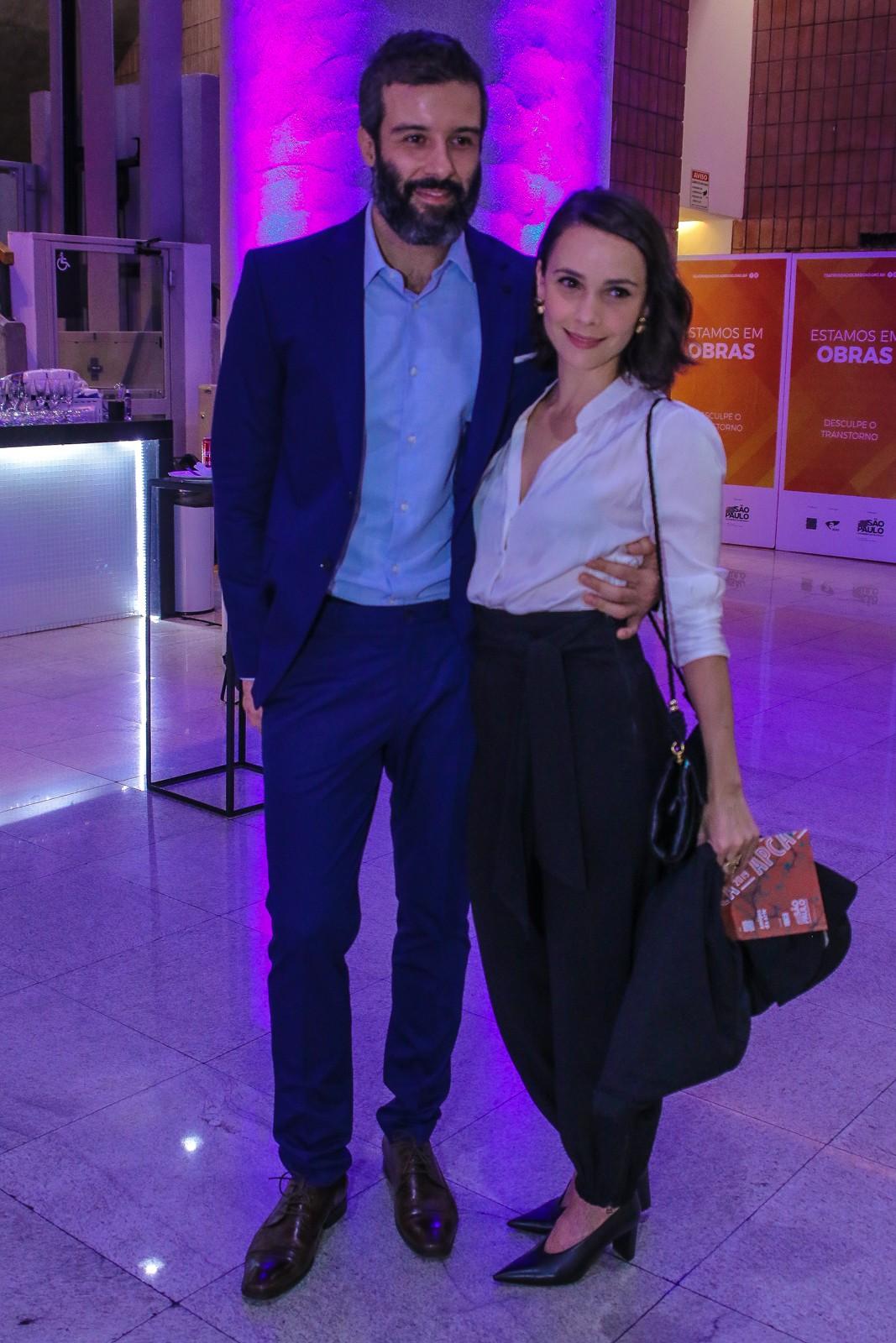 Débora Falabella e Gustavo Vaz (Foto: AgNews)