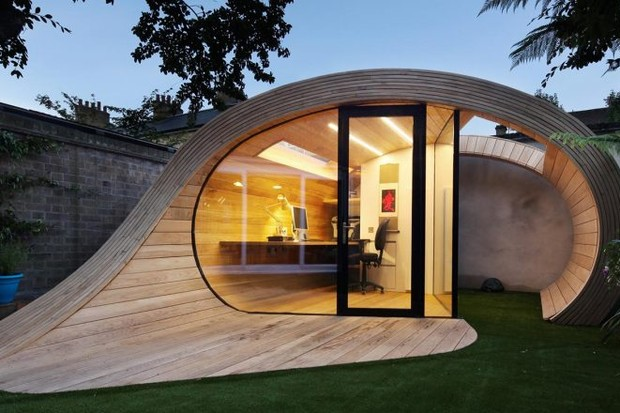 Home office no quintal: 15 projetos para inspirar (Foto: Divulgação)