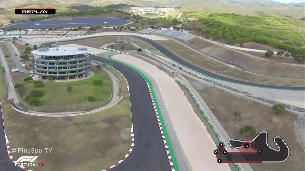 Veja o guia do traçado do GP de Portugal