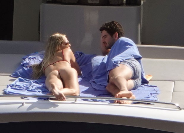 Alexandre Pato e Danielle Knudson (Foto: The Grosby Group)
