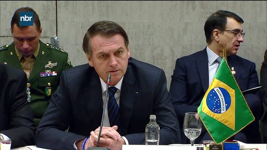 Presidente Jair Bolsonaro se encontra com presidente chileno para reunião bilateral