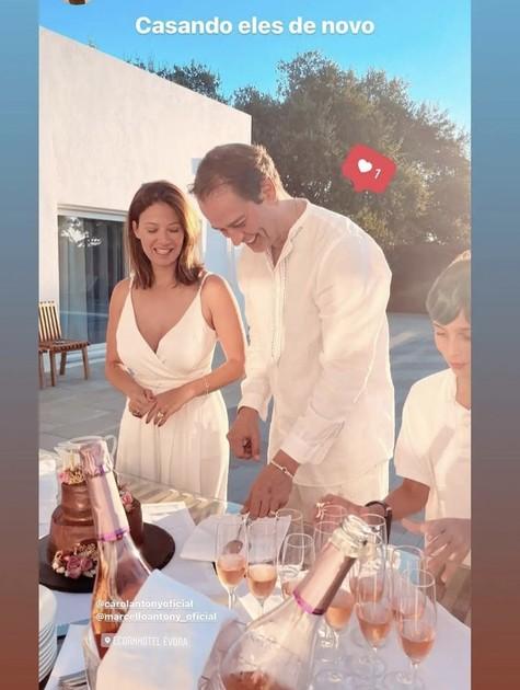 Marcello Antony e a mulher (Foto: Reprodução de Instagram)