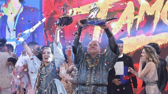 Leo Jaime é o campeão do 'Dança dos Famosos 2018'