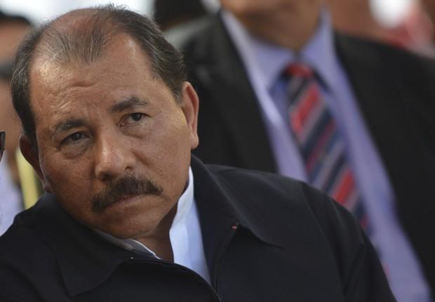 Daniel Ortega, presidente da Nicarágua (Foto: Gregorio Marrero/LatinContent/Getty Images)