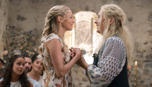 Donna e Sophie em cena emocionante!  (Foto: Divulgação)