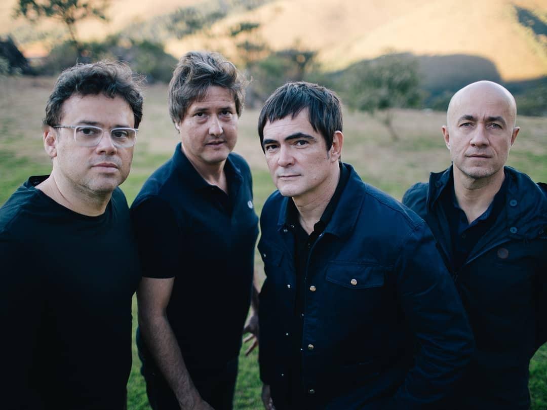A banda Skank, que anunciou sua separação, se apresenta no Circo Voador