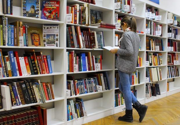 biblioteca, escola, livros, estudo (Foto: Pexels)
