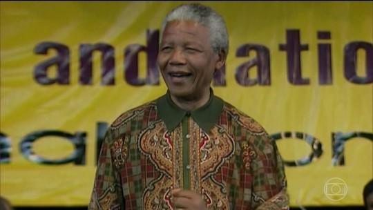Marcha na África do Sul celebra centenário de Nelson Mandela
